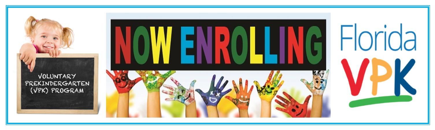 Enrolling Now!